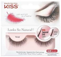 Kiss <b>накладные ресницы Looks so</b> Natural Vamp — купить по ...