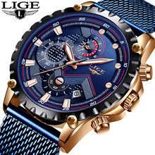 Lige top модный бренд часы Для мужчин Спорт ...