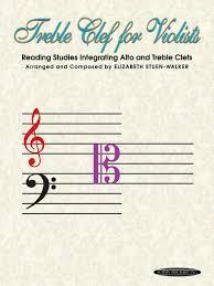 <b>Treble Clef</b> for Violists: Reading Studies Integrating Alto and Treble ...