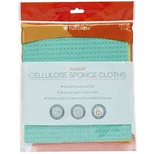 <b>Squeeze Cellulose Cleaning Cloths</b>, Pack of 3, 7 x 8 Each | www.gt ...