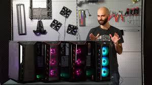 <b>Cooler Master MasterBox</b> MB510L обзор корпуса - YouTube
