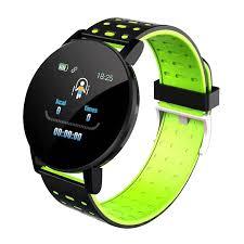 Waterproof <b>119 Plus Smart Bracelet</b> Watch Heart Rate <b>Smart Watch</b> ...