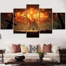 <b>5 Piece HD</b> Video Game World of Warcraft DOTA 2 Painting Poster ...