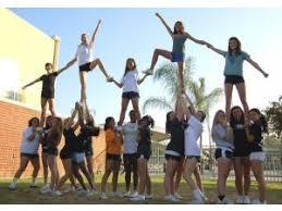 Image result for high school cheerleaders practice