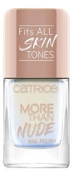 Купить <b>лак для ногтей More</b> Than Nude Nail Polish 10,5мл Catrice ...