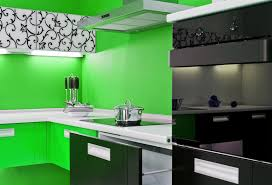 designer kitchens black appliances