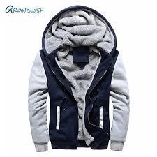 Grandwish Winter parka <b>men plus velvet warm</b> windproof coats ...