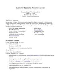 professional summary resume examples customer service   resume    professional summary resume examples customer service