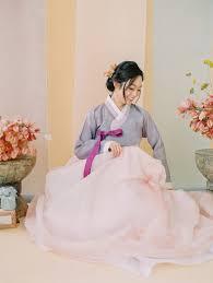Modern Meets Colorful <b>Korean</b> Traditional Wedding Inspiration