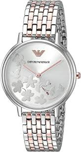 Emporio Armani Women's Fashion Quartz Watch with ... - Amazon.com