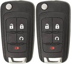 Keyless2Go <b>Replacement Keyless Remote</b> 4 Button Flip <b>Car Key</b>