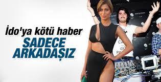 Ebru Şancı İdo ile aşk iddialarını yalanladı