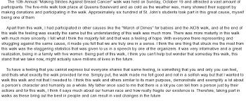 breast cancer walk at essaypedia comessay on breast cancer walk
