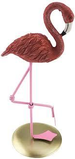 Apol <b>Creative</b> Crafts <b>Resin Flamingo</b> One Leg Standing Statue ...