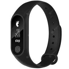 M2 <b>Waterproof Fitness Smart Bracelet</b> Heart Rate Monitor for iPhone ...
