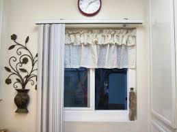 Kitchen Curtains At Walmart Modern Kitchen Window Curtains And Valances Ideas Best Home Designs