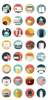 free download office and business icon pack 92 icons ai eps basic icons flat icons 1000