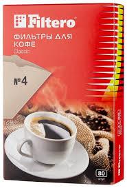 Купить Одноразовые <b>фильтры</b> для капельной кофеварки <b>Filtero</b> ...