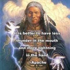 Apache Wisdom Quotes. QuotesGram via Relatably.com