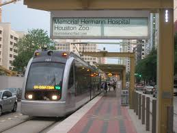 houston s metrorail shows the way how to fit urban rail into train serving memorial hermann hospital houston zoo station photo panoramio com