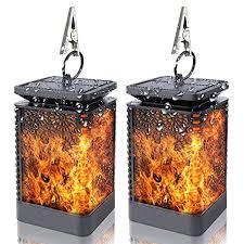 Diwenhouse <b>Solar</b> Dancing <b>Flame</b> Lights - Waterproof <b>Outdoor</b> ...