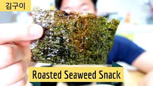 How to make <b>Roasted Seaweed</b> Snack   김구이 - YouTube