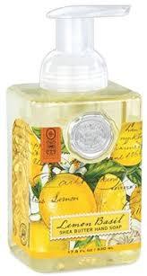 <b>Lemon</b> Basil Foaming Soap Hand Wash by <b>Michel Design Works</b>