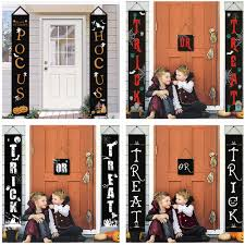 <b>Halloween Door Banner</b> Creative <b>Halloween Couplet</b> For Festival ...