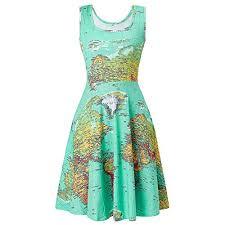 <b>Map Dress</b>: Amazon.com
