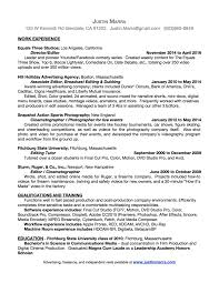 resume justin marra my resume