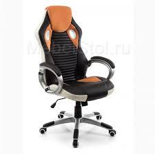 Компьютерное <b>кресло Woodville</b> Roketas оранжевое 1721 ...