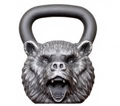 <b>Гиря Iron head</b>, <b>Медведь</b>, чугун, 32 кг — купить за 8600 руб.