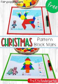 <b>Christmas Pattern</b> Block Mats   Fairy Poppins