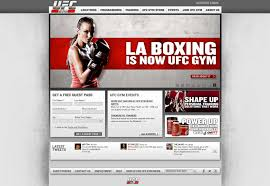 successful sports websites webdesigner depot ufc gym