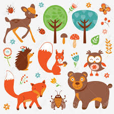 Afbeeldingsresultaat voor dieren van het bos