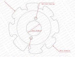 magneto stator 8 pole 6 wire 200cc 250cc bashan shineray taotao image