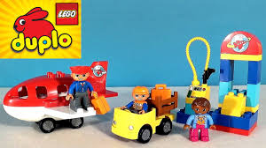Развивающий мультик <b>Lego</b> собираем <b>аэропорт</b> - <b>Lego</b> Duplo ...