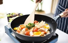 <b>Сковорода для жарки</b> без масла: как называется антипригарная ...