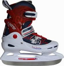 <b>Коньки хоккейные Action</b> PW-214 ледовые раздвижные р.26-29 ...