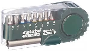 <b>Набор бит</b> 9 предметов <b>Metabo 630419000</b> - цена, отзывы ...
