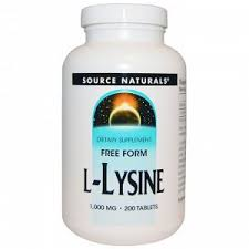 Source Naturals, <b>L</b>-<b>лизин</b>, 1000 мг, 200 таблеток Пищевая ...