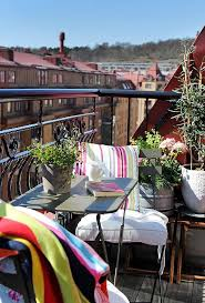small balcony design ideas with colorful patio furniture and plants balcony design furniture