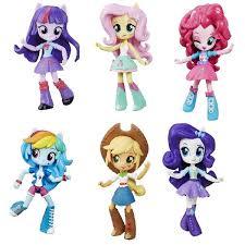 Hasbro My Little Pony B4903 <b>Equestria Girls мини</b>-<b>кукла</b> (в ...