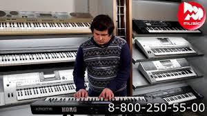 Музыкальная рабочая станция <b>KORG Krome</b>-<b>61</b> - YouTube