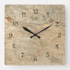 <b>Stone Wall</b> Clocks | Zazzle