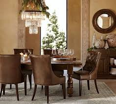 pottery barn style dining table:  images about dining rooms on pinterest breakfast nooks printing process and table and chairs