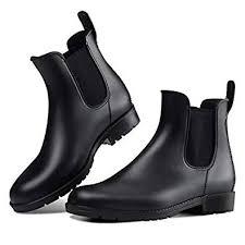 DAWAN Women's Anti-Slip Rain Boots Short Garden ... - Amazon.com