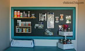 craft room pegboard organization addicted 2 diy office space design ideas designer office accessories amazing diy home office desk 2 black