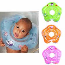 Infant Neck Float Kid Inflatable Wheel <b>Swimming Pool</b> Float <b>Child</b> ...