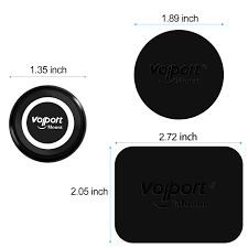 VOLPORT Magnetic <b>Phone Holder</b> 2 Pack i Magnets <b>Car</b> Mount with ...